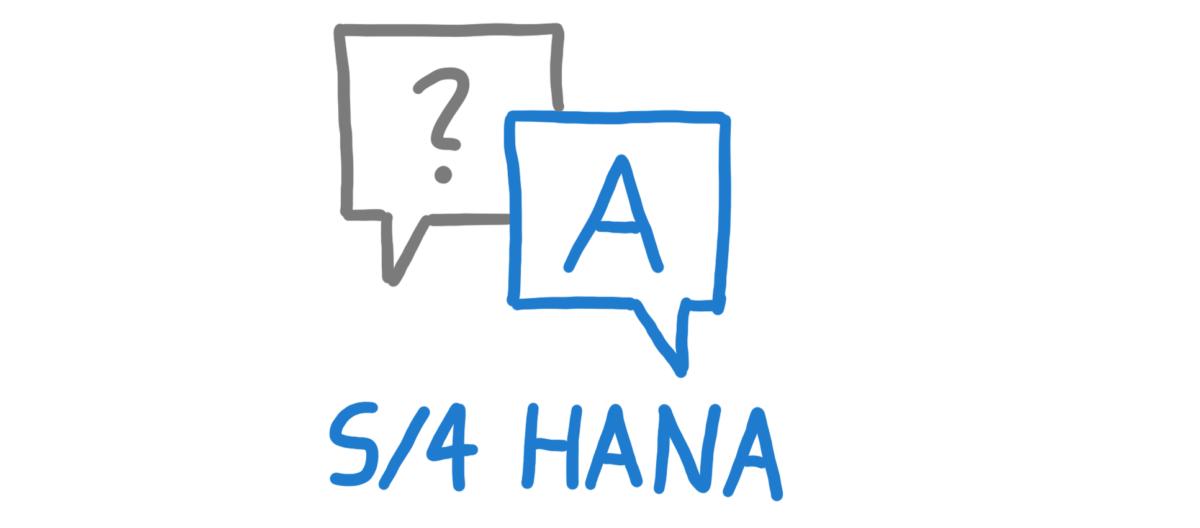 SAP S/4HANA – Fragen und Antworten